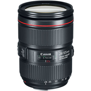 Canon EF 24-105mm f4L IS II USM - Next Day Delivery
